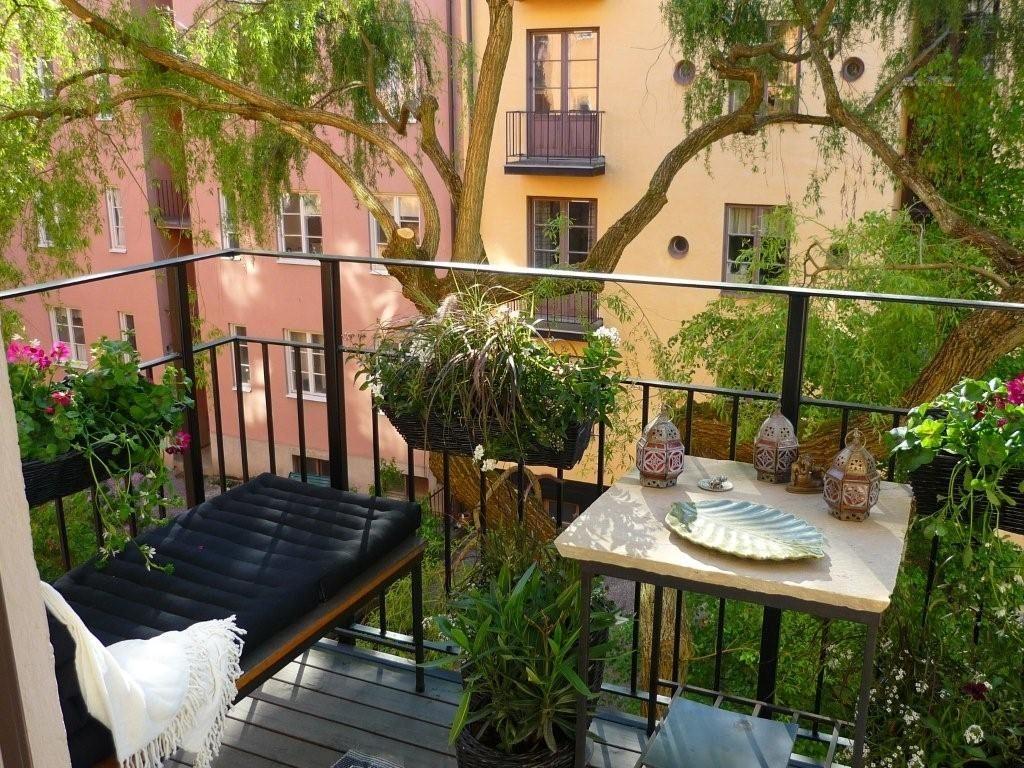 оформление балкона фото