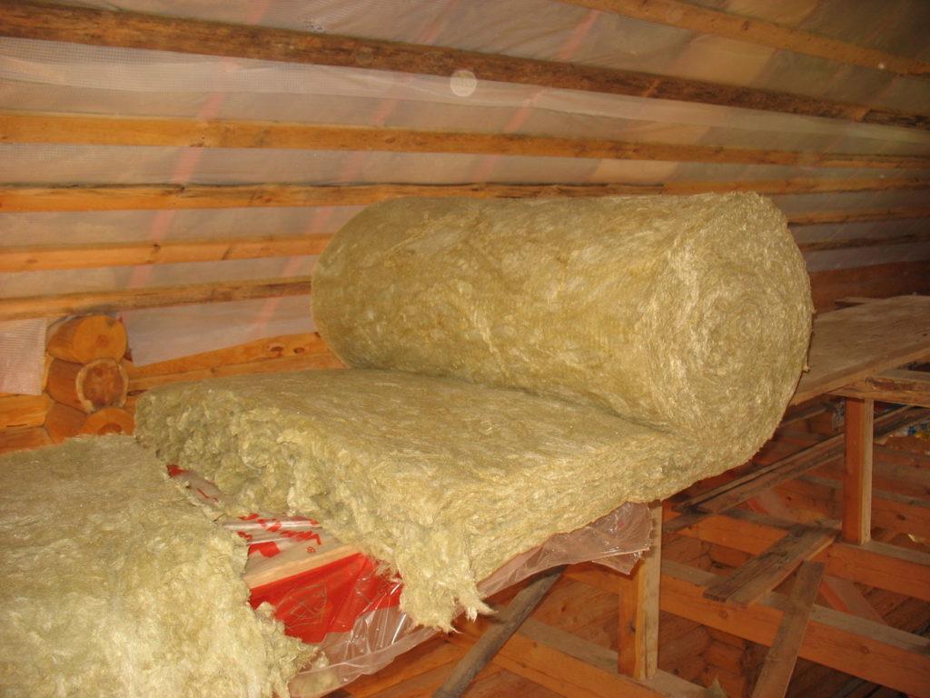 утепление крыши дома фото