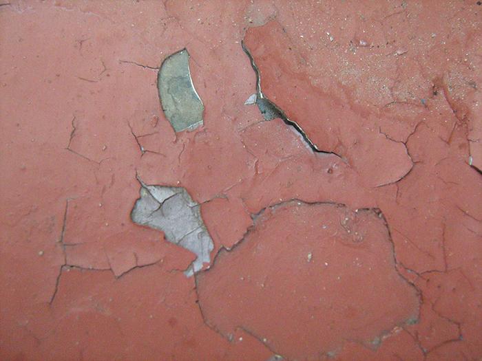 демонтаж краски со стен фото