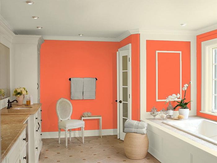 как покрасить стены фото