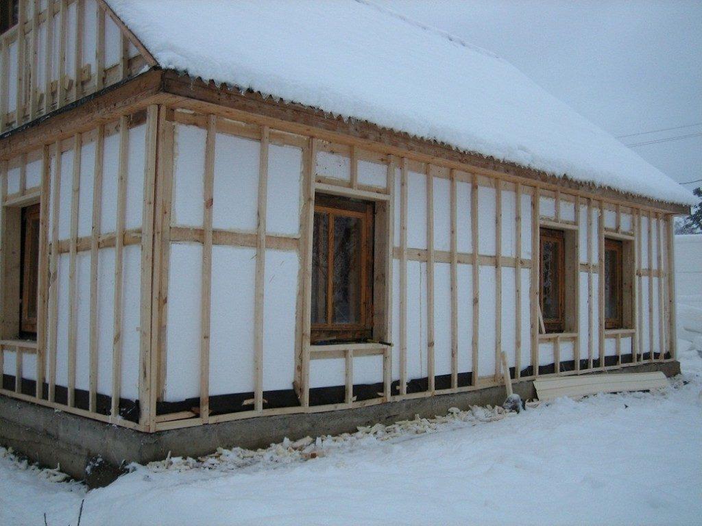 утепление дачного дома фото